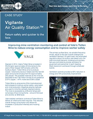 Vale - Totten Mine August 2020