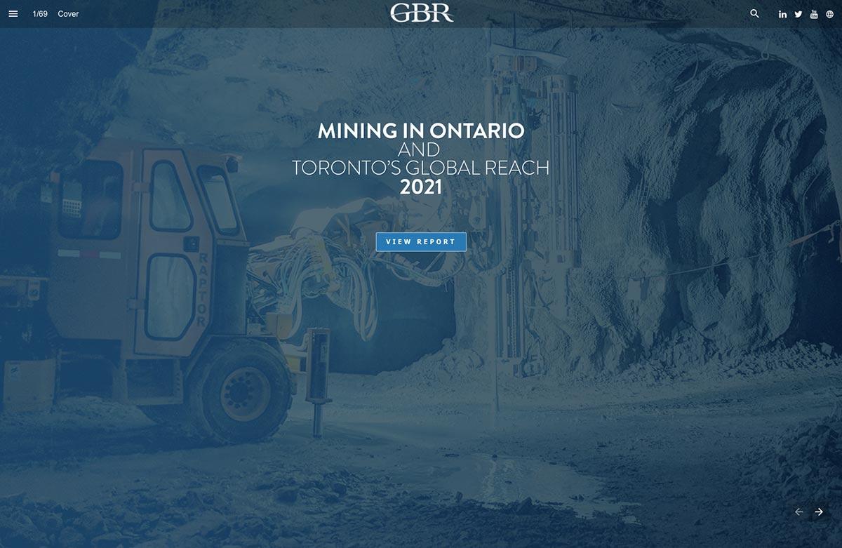 Minería en Ontario y Alcance Global de Toronto  2021