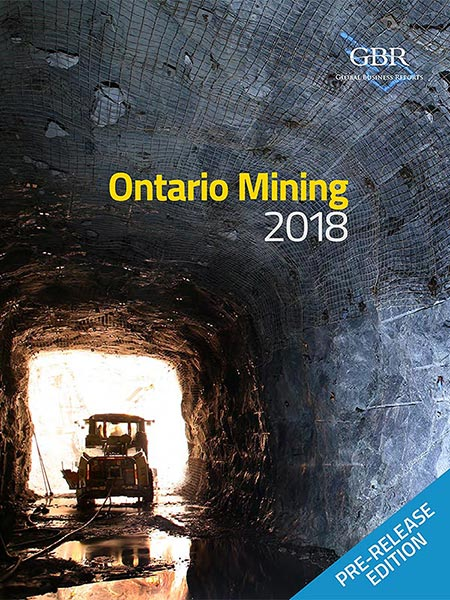 Cover of Ontario Mining 2018 pre-Release Edition